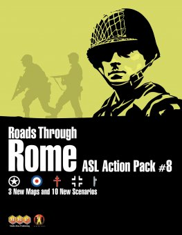 ASL Action Pack #8 - Roads Through Rome