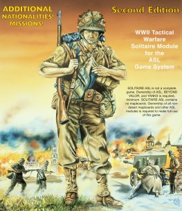 Solitaire Advanced Squad Leader (2nd Edition)